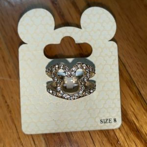 Mickey Shaped Ring Disney Park Exclusive